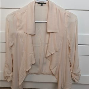 Cream , sheer cover up